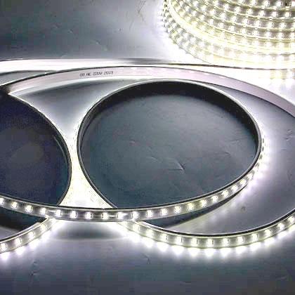 5050-60D-220V-10MM-打孔帶拉絲-白光